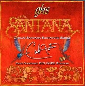 Ghs Strings Ghs Carlos Santana Signature Medium