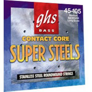 Ghs Strings M5200 Supersteel