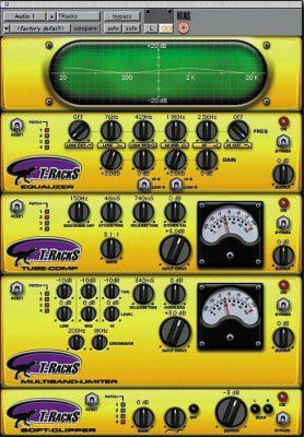 Ik Multimedia T-racks Eq Upgrade (digi Bundle) To T-racks Full Version