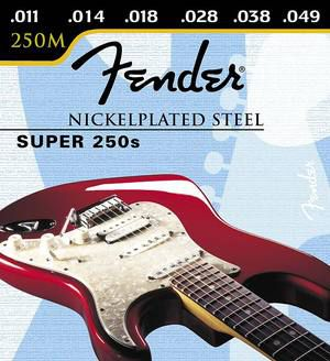 Fender Super 250 Nickel Plated Steel Ball End 250 R 010-046