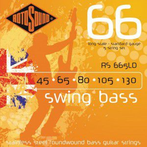 Rotosound Rs665ld Bass Strings Stainless Steel