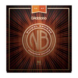 D`addario Nb1047 Nickel Bronze Acoustic, Extra Light, 10-47