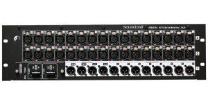 Soundcraft Soundcraft Msb-16 Cat5 Mini Stagebox 16 (2u)