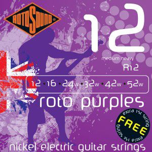 Rotosound R12 Strings Nickel Medium Heavy