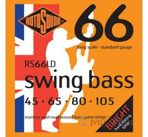 Rotosound Rs66ld Bass Strings Stainless Steel