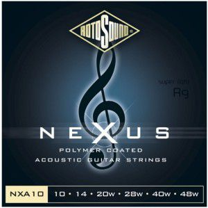 Rotosound Nxa10 Strings Coated Type
