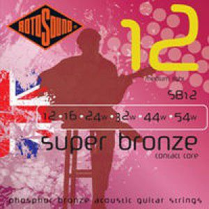 Rotosound Sb12 Strings Phosphor Bronze