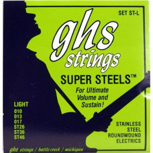Ghs Strings Electric Bass Guitar Strings Super Steels