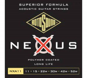 Rotosound Nxa11 Strings Coated Type