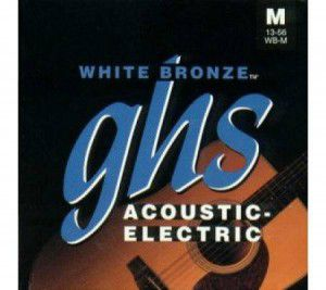 Ghs Strings Wb-xl White Bronze