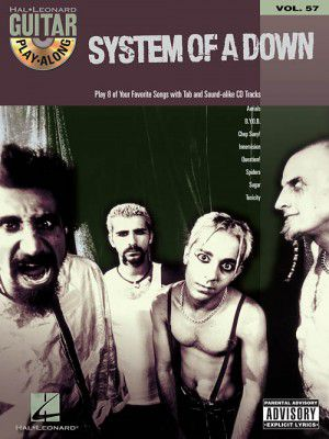 Hal Leonard 699751 System Of A Down