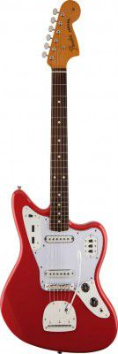 Fender 60s Jaguar Lacquer Fiesta Red