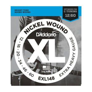 D`addario Exl148 Nickel Wound Extra-heavy 12-60