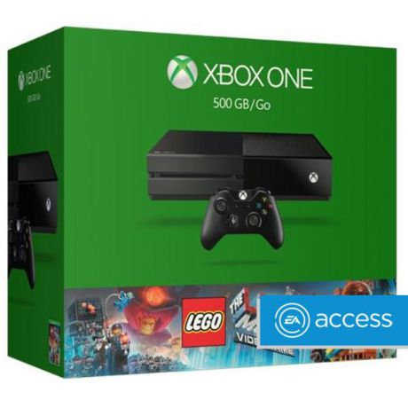 Microsoft Xbox One 500 ГБ + The LEGO Movie Videogame
