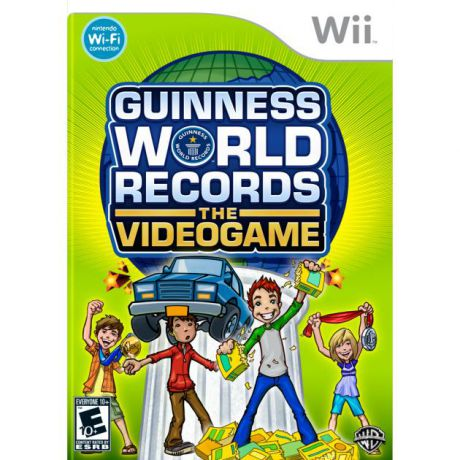 Guinness World Records the Videogame для Nintendo Wii, Английский
