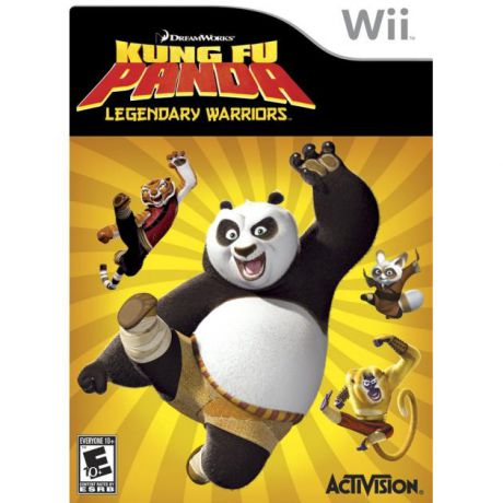 DreamWorks Kung-Fu Panda Legendary Warrior для Nintendo Wii, Английский