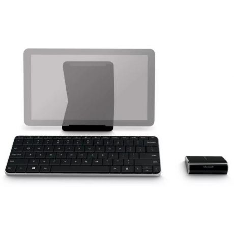 Microsoft Keyboard Microsoft Wedge Mobile Bluetooth Bluetooth, Черный