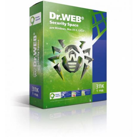 Dr. Web DR.Web Security Space BHW-B-12M-3-A3