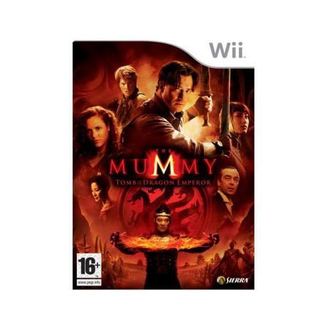 The Mummy: Tomb of the Dragon Emperor для Nintendo Wii, Английский
