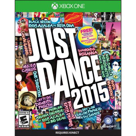 Ubisoft Just Dance для MS Kinect Xbox One, Английский