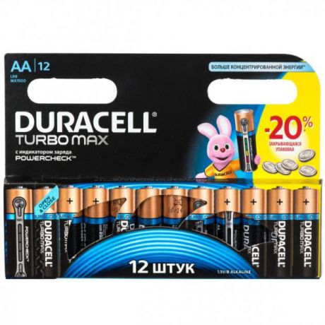 Duracell Duracell Turbo LR6-12BL