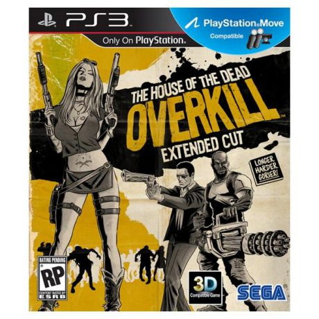 House of the Dead: OVERKILL-The Extended Cut Русский язык, Sony PlayStation 3, боевик Русский язык, Sony PlayStation 3, боевик