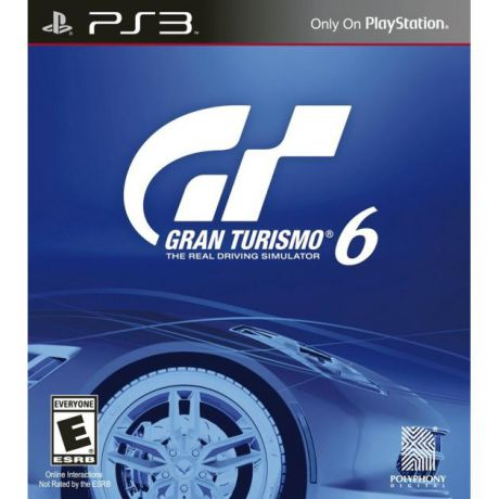 Gran Turismo 6 Русский язык, Sony PlayStation 3, гонки