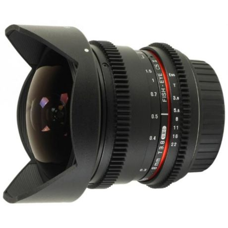 Samyang Samyang 8mm T3.8 AS IF UMC Fish-eye CS II VDSLR Canon EF Canon EF