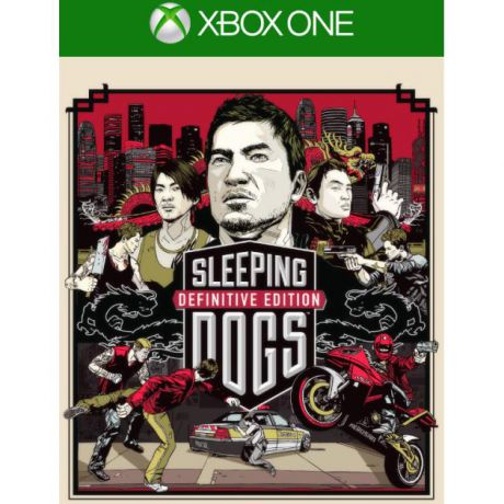 Square Enix Xbox One Sleeping Dogs Definitive Edition