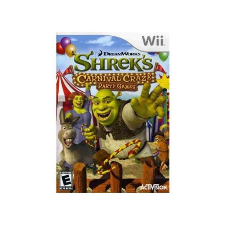 DreamWorks Shrek Carnival Craze Party Games для Nintendo Wii, Английский