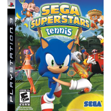 Sega Superstars Tennis [PS3] Sony PlayStation 3, спорт Sony PlayStation 3, спорт