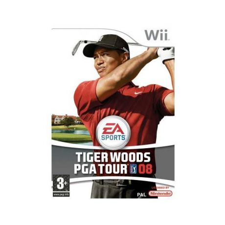 Tiger Woods PGA Tour 08 для Nintendo Wii, Английский
