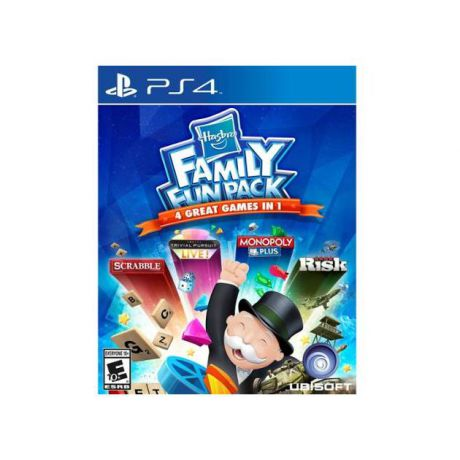 Hasbro Family Fun Pack Sony PlayStation 4, настольная