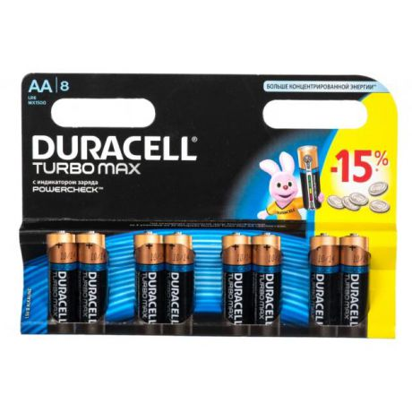Duracell Duracell Turbo LR6-8BL AA бл 8