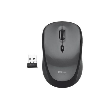 Trust Trust Yvi Wireless Mouse Черный, USB