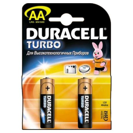 Duracell Duracell Turbo LR6-2BL AA AA, 2