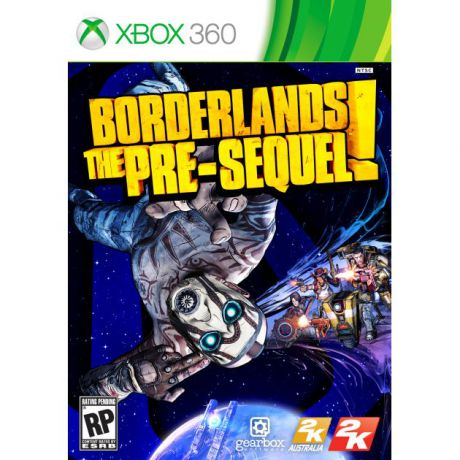 Borderlands: The Pre-Sequel Xbox 360, Английский