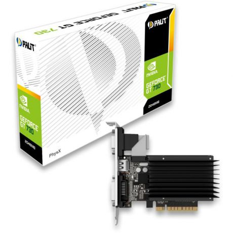 Palit Palit GeForce GT 730 NEAT7300HD06-2080H 1800, 1024Мб