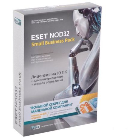 Eset Eset NOD32 Small Business Pack