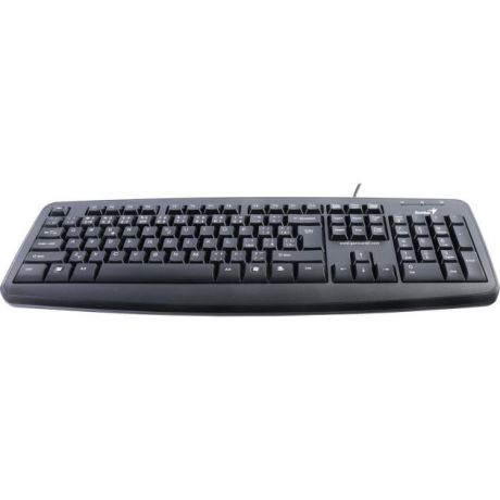 Genius Genius KB-110X PS/2, Черный