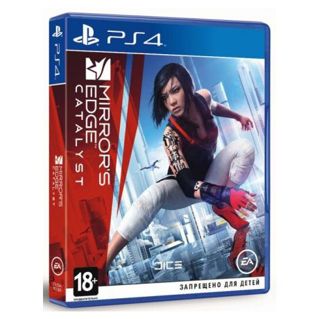 Mirror's Edge Catalyst Русский язык, Sony PlayStation 4, боевик
