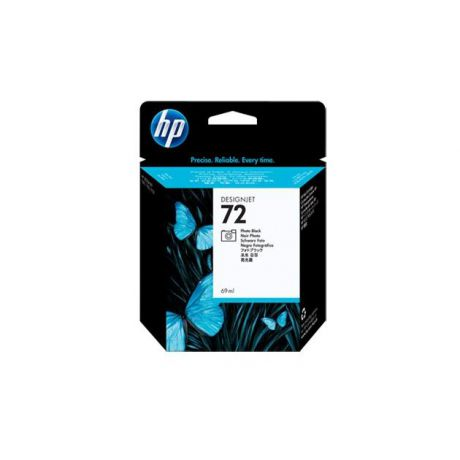 HP HP Inc. Cartridge HP 72 черный  фото для DJ T610/T620/T770/T1100/T1120/ T1200/T2300/T1300/T790 69 мл