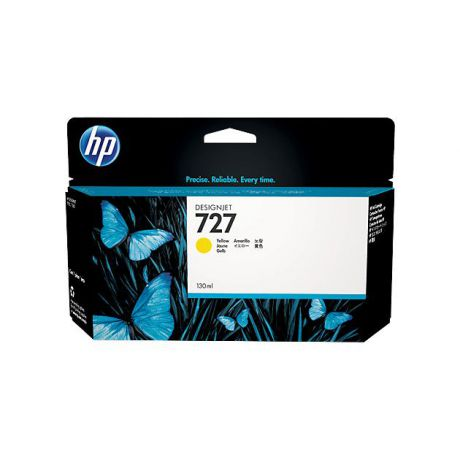 HP HP Inc. Cartridge HP 727 желтый для HP DJ T920/T1500  130 мл
