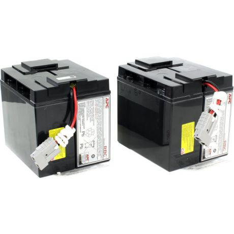 Electric APC by Schneider Electric Battery replacement kit for SU1400RMXLINET, SU2200INET, SU2200I, SU2200RMI, SU2200RMXLI, SU2200XLI, SU3000I, SU3000INET, SU3000RMI, SU24XLBP, SU48XLBP (состоит из 2 батарей)