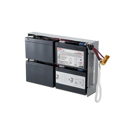 Electric APC by Schneider Electric Battery replacement kit for  SUA1000RMI2U, SU1000RM2U, SU1000RMI2U (сборка из 4 батарей в металлическом поддоне)
