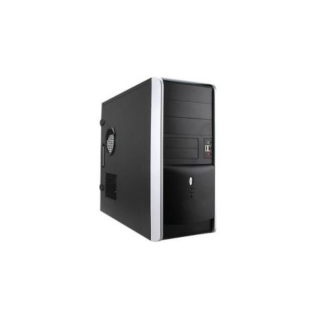 InWin IN WIN Midi Tower InWin EAR007 Black/Silver 450W 2*USB 3.0+Audio ATX