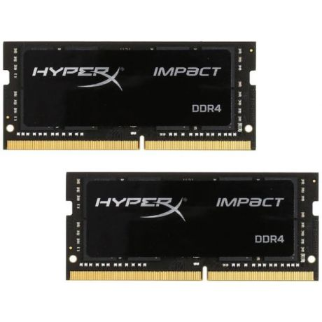 Kingston Kingston 16GB 2400MHz DDR4 CL14 SODIMM Kit of 2 HyperX Impact