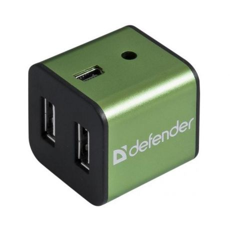 Defender Концентратор USB2 4PORT QUADRO IRON 83506 DEFENDER