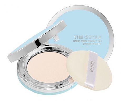 MISSHA Пудра компактная The Style Fitting Wear Sebum-Cut Pressed Powder №2