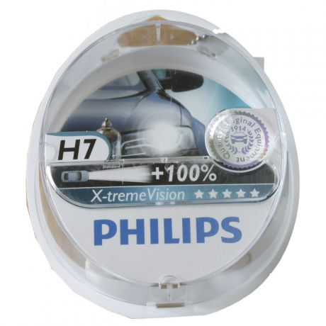 H7 55W X-treme Vision plus 2 шт. Philips
